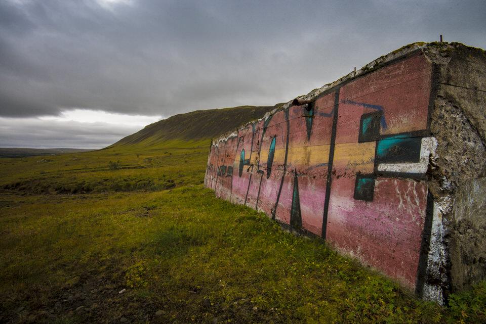 Fotokurs Island: Grafitti