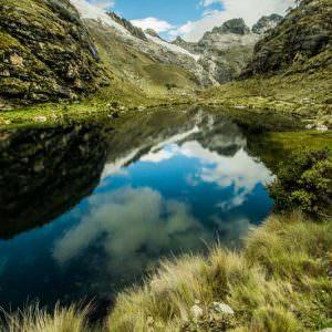 Superweitwinkel: Bergsee fotografieren
