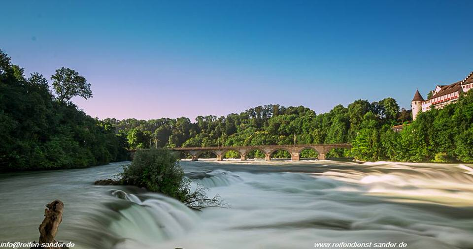 Rheinfall Schaffhausen fotografieren