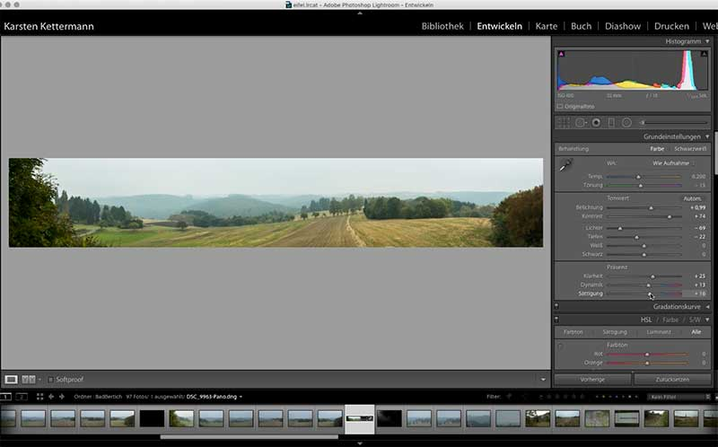 lightroom panorama software