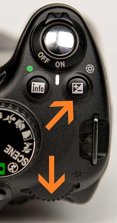 manuelle belichtungskorrektur