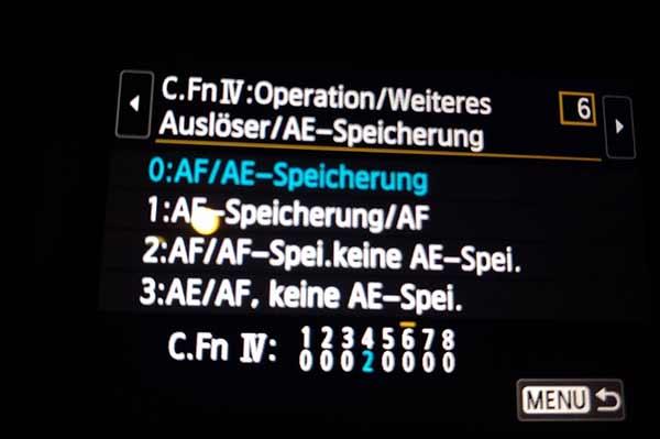 af-ae-speicherung