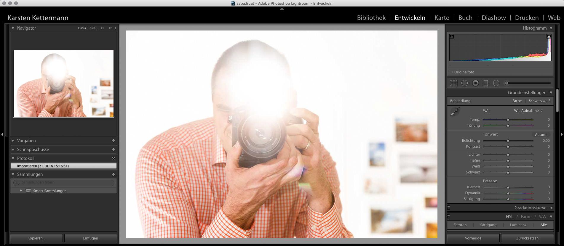 Auf den ersten Blick geflasht: Lightroom kann für Anfänger ganz schön kompliziert aussehen. Nach dem Lightroom Onlinekurs siehst du klar!