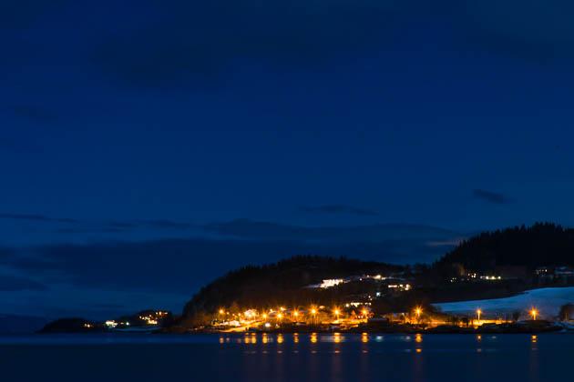 Nachtfotografie Trondheim